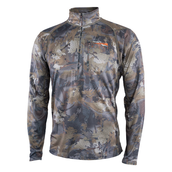 Sitka Core Midweight Zip-T-MENS CLOTHING-Timber-M-Kevin's Fine Outdoor Gear & Apparel