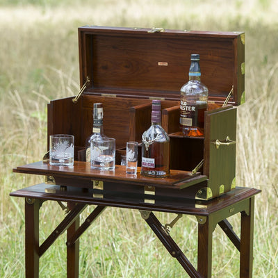 Campaign Furniture: Kevin's Field Bar