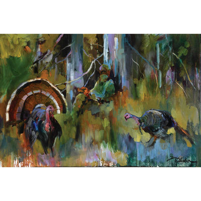 """Talking To Tom"" Painting By Dirk Walker-Decor-Kevin's Fine Outdoor Gear & Apparel"