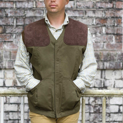 Kevin's Men's Stretch Twill Shooting Vest--Kevin's Fine Outdoor Gear & Apparel