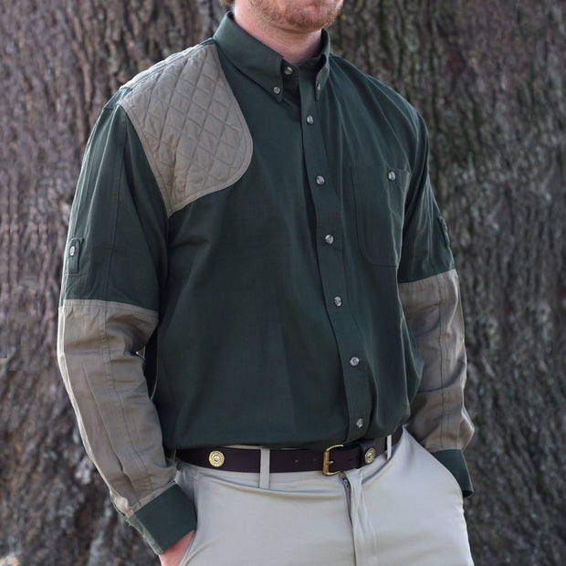Kevin's Long Sleeve Single Right Patch Shooting Shirt-HUNTING/OUTDOORS-Advantage Apparel-Kevin's Fine Outdoor Gear & Apparel