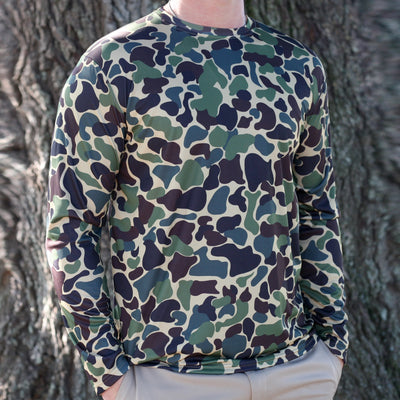 Kevin's Camo Long Sleeve Performance T-Shirt