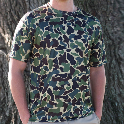 Kevin's Camo Short Sleeve Performance T-Shirt