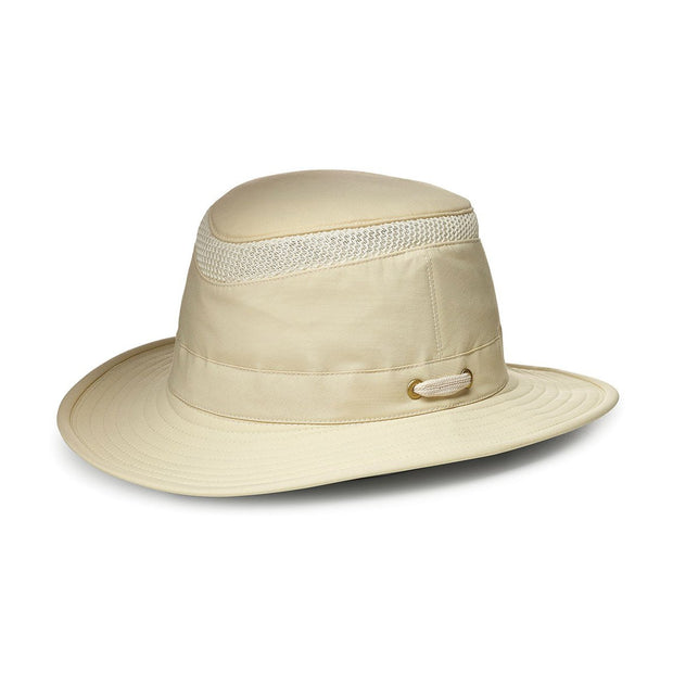 Tilley AIRFLO Hat (Medium Down-Sloping Brim)-MENS CLOTHING-NATURAL-6 7/8-Kevin's Fine Outdoor Gear & Apparel