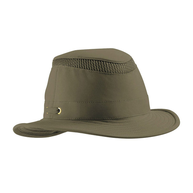 Tilley AIRFLO Hat (Medium Down-Sloping Brim)-MENS CLOTHING-OLIVE-6 7/8-Kevin's Fine Outdoor Gear & Apparel
