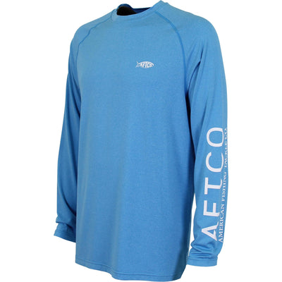 Aftco Samurai Performance Shirt-MENS CLOTHING-Vivid Blue-S-Kevin's Fine Outdoor Gear & Apparel