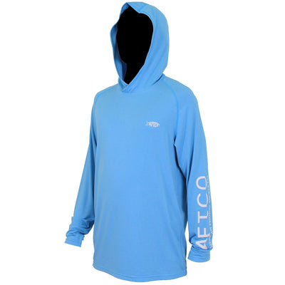Aftco Samurai Performance Hoodie-MENS CLOTHING-Vivid Blue-S-Kevin's Fine Outdoor Gear & Apparel