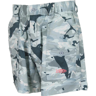 Aftco Camo Original Fishing Shorts - Long-MENS CLOTHING-Kevin's Fine Outdoor Gear & Apparel