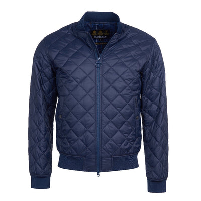 Barbour Gabble Quilted Jacket in Navy