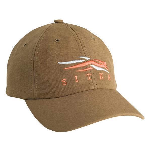Sitka Front Logo Cap-CAMO CLOTHING-Mud-Kevin's Fine Outdoor Gear & Apparel