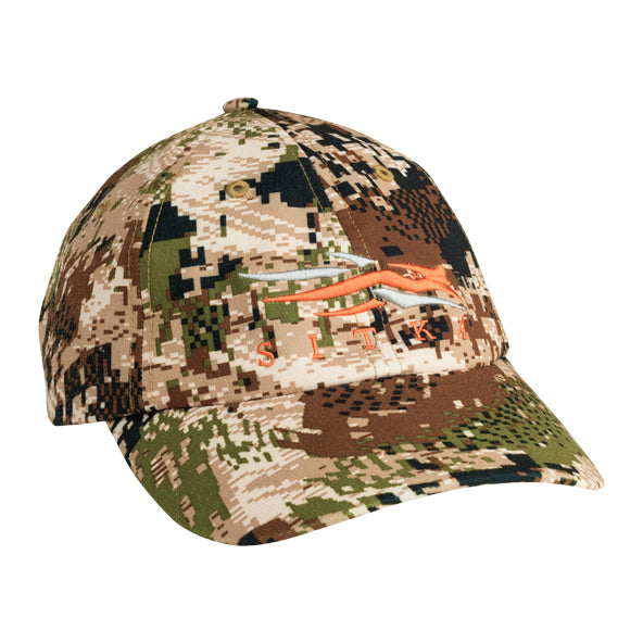 Sitka Front Logo Cap-CAMO CLOTHING-Kevin's Fine Outdoor Gear & Apparel