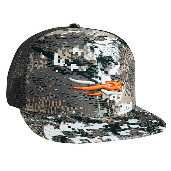 Sitka Trucker Cap-CAMO CLOTHING-Elevated II-Kevin's Fine Outdoor Gear & Apparel