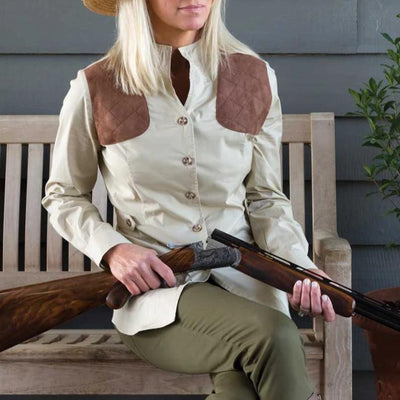 Kevin's Huntress Untucked Shooting Blouse-WOMENS CLOTHING-Kevin's Fine Outdoor Gear & Apparel