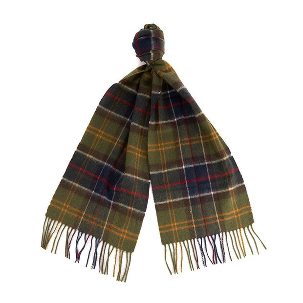 Barbour Merino Cashmere Tartan Scarf-WOMENS CLOTHING-CLASSIC-Kevin's Fine Outdoor Gear & Apparel