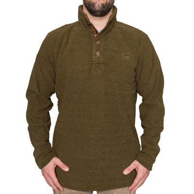 Firepit Fleece Henley