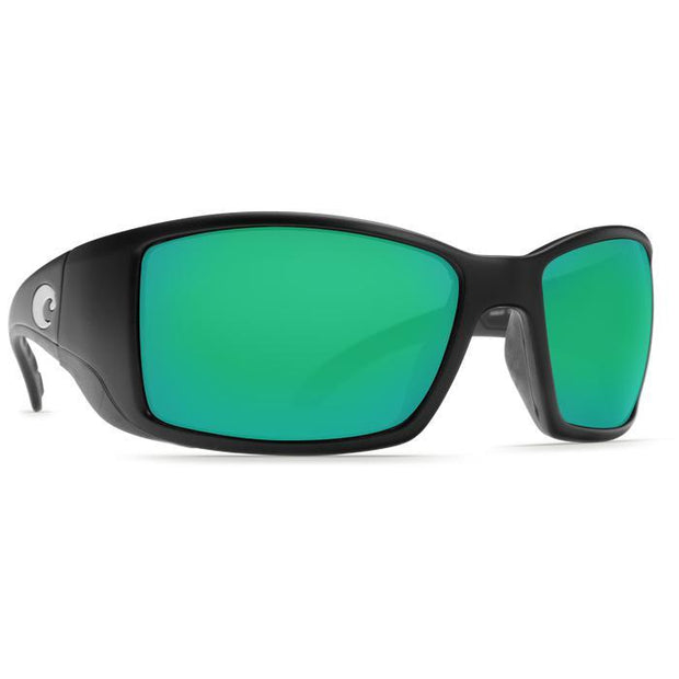 "Costa Del Mar ""Blackfin"" Polarized Sunglasses-SUNGLASSES-BLACK (11)-GREEN 580P-Kevin's Fine Outdoor Gear & Apparel"