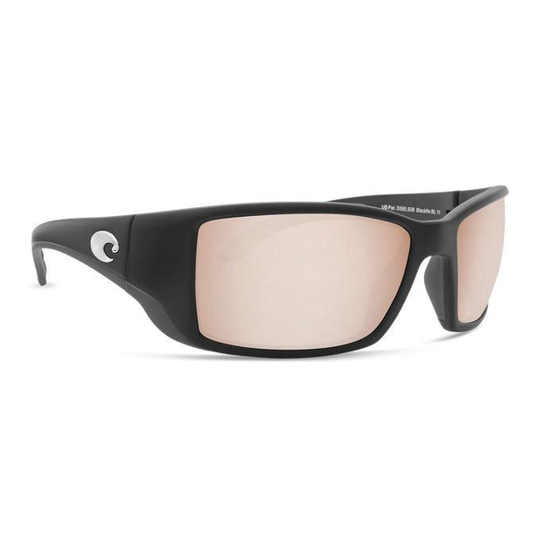 "Costa Del Mar ""Blackfin"" Polarized Sunglasses-SUNGLASSES-BLACK (11)-SILVER C. 580P-Kevin's Fine Outdoor Gear & Apparel"