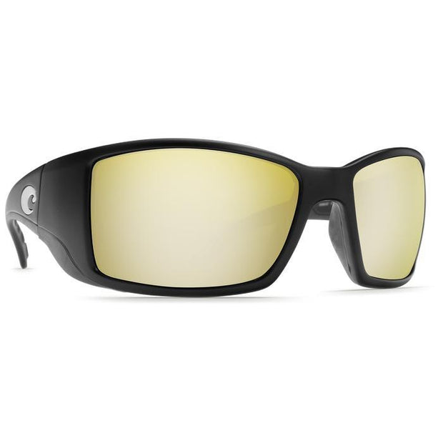"Costa Del Mar ""Blackfin"" Polarized Sunglasses-SUNGLASSES-BLACK (11)-SILVER 580G-Kevin's Fine Outdoor Gear & Apparel"