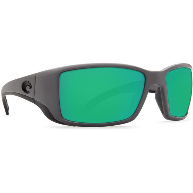 "Costa ""Blackfin"" Polarized Sunglasses-SUNGLASSES-Matte Gray (98)-Green 580G-Kevin's Fine Outdoor Gear & Apparel"