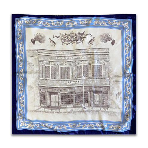 Kevin's Storefront 18in Silk Pocket Square-MENS CLOTHING-BLUE-Kevin's Fine Outdoor Gear & Apparel