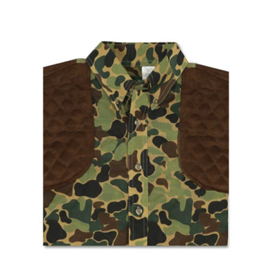 Kevin's Kid's Long Sleeve Camo Shooting Shirt-CHILDRENS CLOTHING-Kevin's Fine Outdoor Gear & Apparel