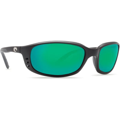 "Costa ""Brine"" Polarized Sunglasses-SUNGLASSES-BLACK (11)-GREEN 580G-Kevin's Fine Outdoor Gear & Apparel"