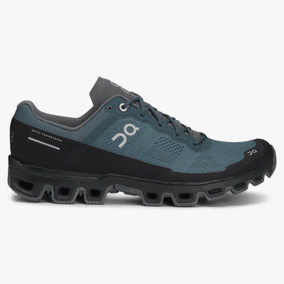Men's Cloudventure Performance Shoe-FOOTWEAR-ON RUNNING-SHADOW/ROCK-8-Kevin's Fine Outdoor Gear & Apparel