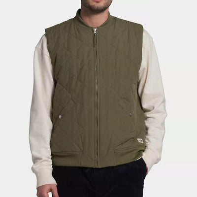 The North Face Men's Cuchillo Vest-MENS CLOTHING-Burnt Olive-M-Kevin's Fine Outdoor Gear & Apparel