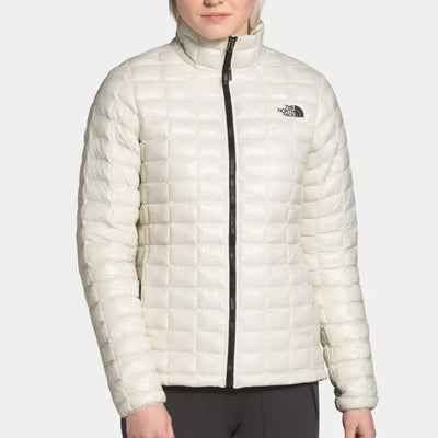The North Face Women's Eco Thermoball Jacket-WOMENS CLOTHING-VINTAGE WHITE-XS-Kevin's Fine Outdoor Gear & Apparel