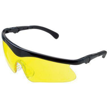 Daisy Youth Shooting Glasses-HUNTING/OUTDOORS-Black/Amber-Kevin's Fine Outdoor Gear & Apparel