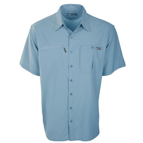 DPF FlyWeight S/S Wingshooters Shirt-MENS CLOTHING-Light Blue-Medium-Kevin's Fine Outdoor Gear & Apparel