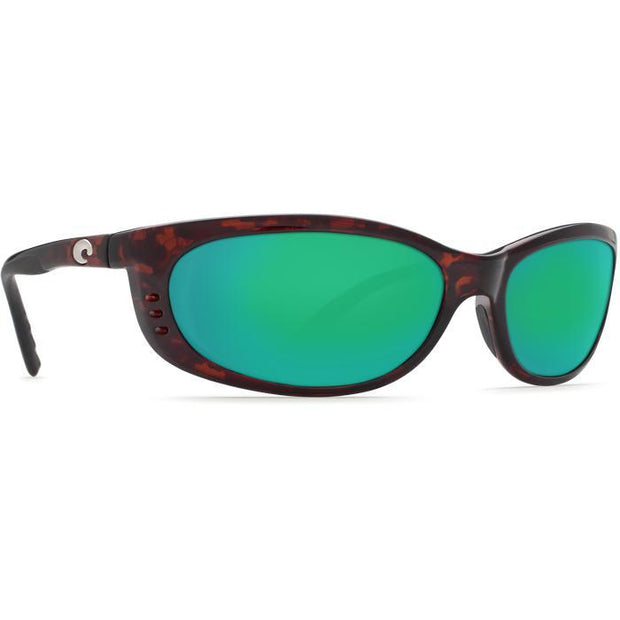 "Costa ""Fathom"" Polarized Sunglasses-SUNGLASSES-TORTOISE (10)-GREEN 580P-Kevin's Fine Outdoor Gear & Apparel"