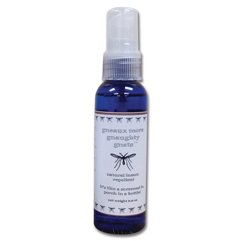 Gneaux More Gnaughty Gnats Natural Insect Repellent Spray 2oz