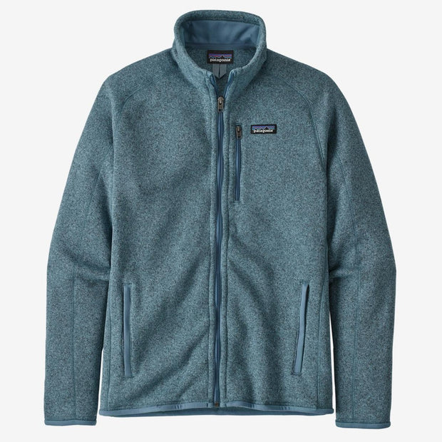 Patagonia Men's Better Sweater Jacket-MENS CLOTHING-Pigeon Blue-S-Kevin's Fine Outdoor Gear & Apparel