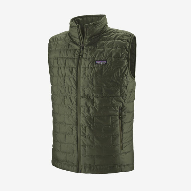 Patagonia Men's Nano Puff Vest-MENS CLOTHING-Kelp Forrest-S-Kevin's Fine Outdoor Gear & Apparel