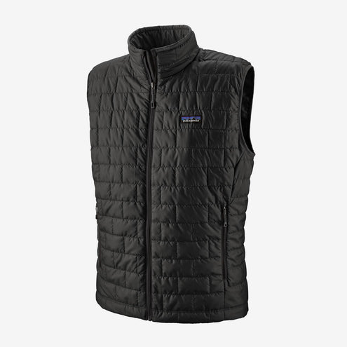 Patagonia Men's Nano Puff Vest-MENS CLOTHING-Black-S-Kevin's Fine Outdoor Gear & Apparel
