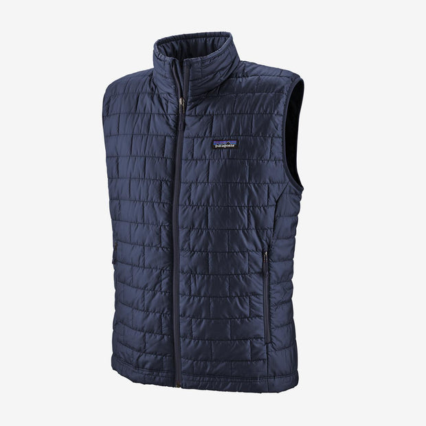 Patagonia Men's Nano Puff Vest-MENS CLOTHING-Classic Navy-2XL-Kevin's Fine Outdoor Gear & Apparel
