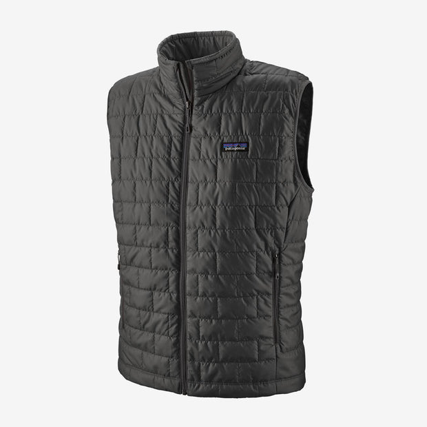 Patagonia Men's Nano Puff Vest-MENS CLOTHING-Forge Grey-S-Kevin's Fine Outdoor Gear & Apparel