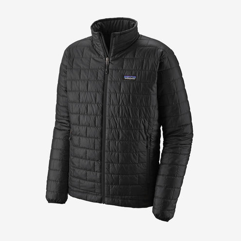 Patagonia Men's Nano Puff Jacket-MENS CLOTHING-Black-S-Kevin's Fine Outdoor Gear & Apparel
