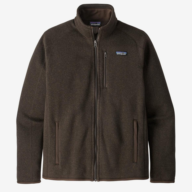 Patagonia Men's Better Sweater Jacket-MENS CLOTHING-Logwood Brown-S-Kevin's Fine Outdoor Gear & Apparel