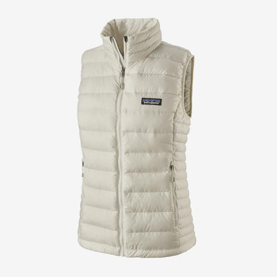 Patagonia Women's Down Sweater Vest-WOMENS CLOTHING-Birch White-XS-Kevin's Fine Outdoor Gear & Apparel