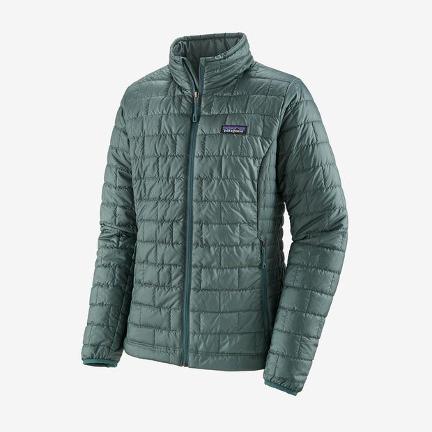 Patagonia Women's Nano Puff Jacket-WOMENS CLOTHING-Regen Green-XS-Kevin's Fine Outdoor Gear & Apparel
