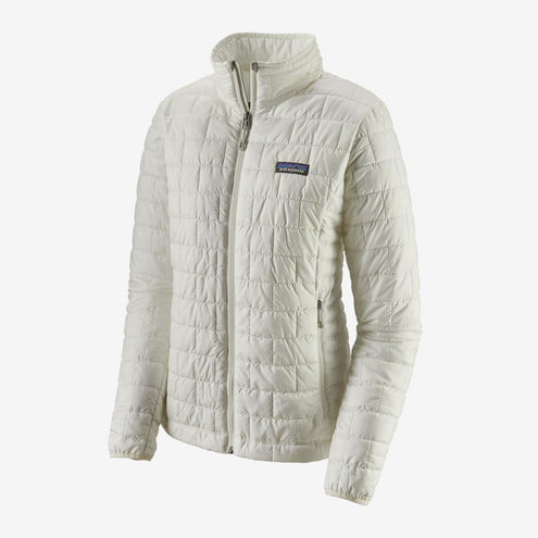 Patagonia Women's Nano Puff Jacket-WOMENS CLOTHING-Birch White-L-Kevin's Fine Outdoor Gear & Apparel