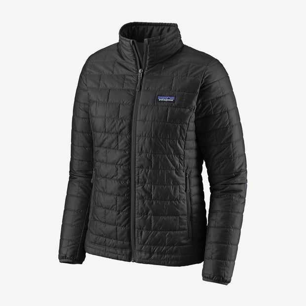 Patagonia Women's Nano Puff Jacket-WOMENS CLOTHING-Black-M-Kevin's Fine Outdoor Gear & Apparel