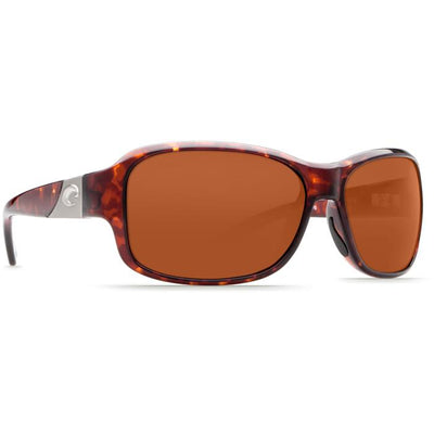 "Costa ""Inlet"" Polarized Sunglasses-SUNGLASSES-TORTOISE (10)-COPPER 580P-Kevin's Fine Outdoor Gear & Apparel"