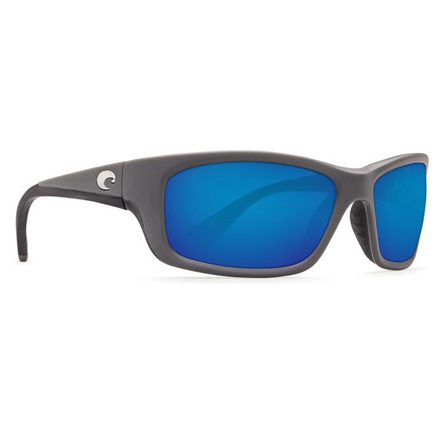"Costa ""Jose"" Polarized Sunglasses-SUNGLASSES-MATTE GRAY (98)-BLUE 580G-Kevin's Fine Outdoor Gear & Apparel"