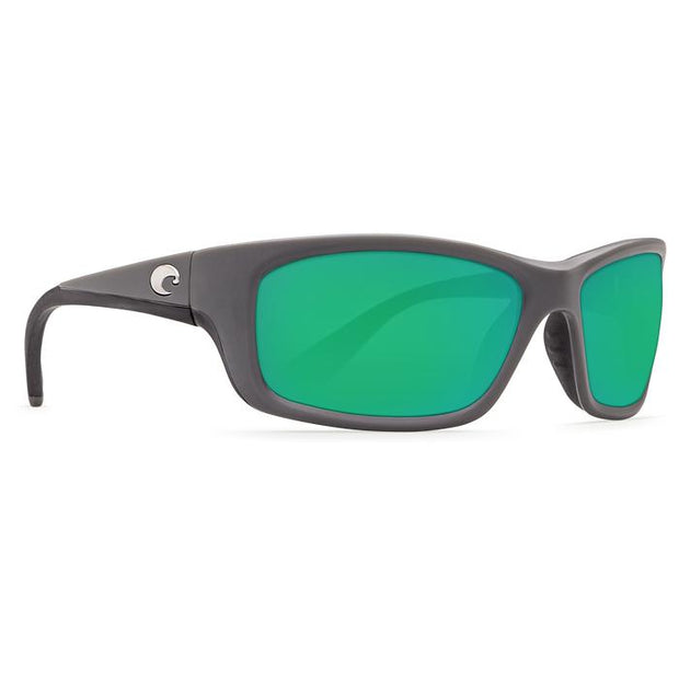 "Costa ""Jose"" Polarized Sunglasses-SUNGLASSES-MATTE GRAY (98)-GREEN 580G-Kevin's Fine Outdoor Gear & Apparel"