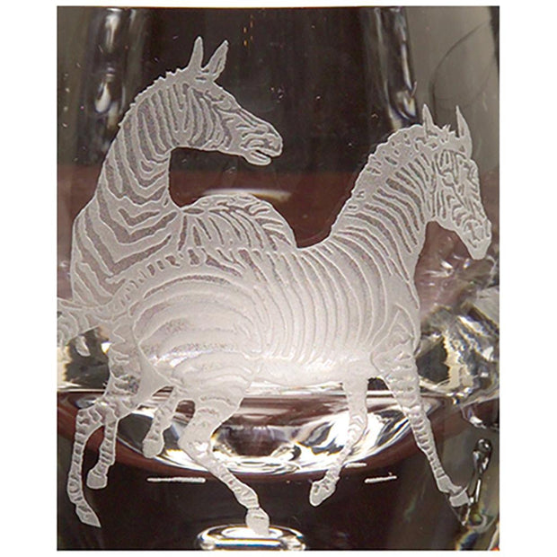 Kevin's Crystal Tapered Highball Glass 14 oz.-HOME/GIFTWARE-ZEBRAS-Kevin's Fine Outdoor Gear & Apparel