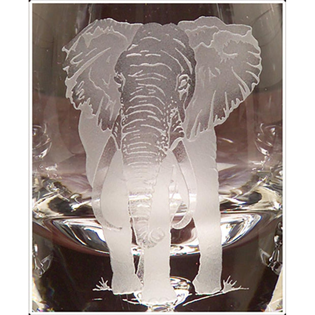 Kevin's Crystal Tapered Highball Glass 14 oz.-HOME/GIFTWARE-ELEPHANT-Kevin's Fine Outdoor Gear & Apparel