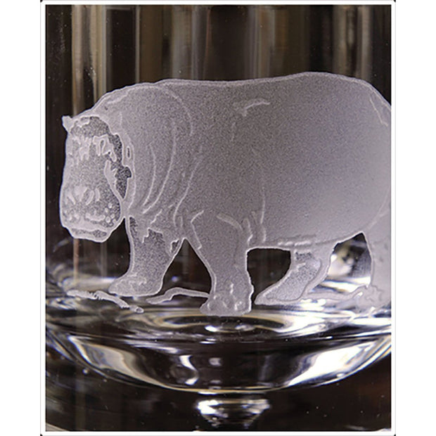 Kevin's Crystal Tapered Highball Glass 14 oz.-HOME/GIFTWARE-HIPPOPOTAMUS-Kevin's Fine Outdoor Gear & Apparel